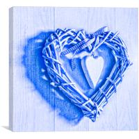 Two Hearts, Canvas Print