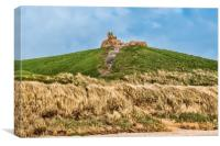 Dragon on the Hill, Canvas Print