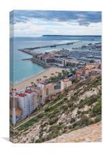 Alicante, Canvas Print