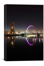 Glasgow Clyde Arc, Canvas Print