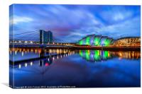 Canvas print Scotland Armadillo and Crowne Plaza, Canvas Print