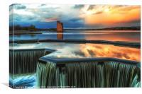 Strathclyde Park Loch, Canvas Print