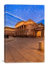 Royal Exchange Square Glasgow, Canvas Print