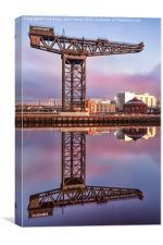 Finnieston Crane Glasgow, Canvas Print