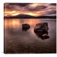 Loch Lomond Argyll, Canvas Print