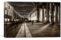 GOMA royal exchange square glasgow, Canvas Print