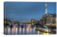 The Shard and Tower Bridge, Canvas Print