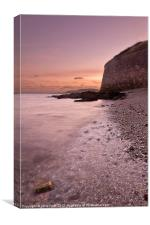 Nothe Fort Sunset, Canvas Print