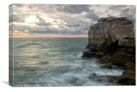 The Rock at Pulpit, Canvas Print