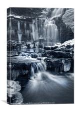 The Falls at Scaleber Force, Canvas Print