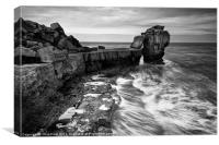 Pulpit Rock Swell, Canvas Print