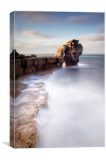 A long time standing at Pulpit Rock, Canvas Print