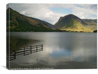 Buttermere and Fleetwith Pike., Canvas Print