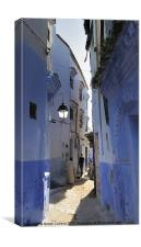 CHEFCHAOUEN ALLEY, Canvas Print