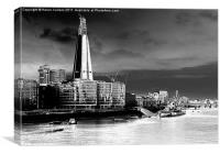 THE SHARD & THE BELFAST, Canvas Print