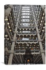 INSIDE THE LLOYDS BUILDING, Canvas Print