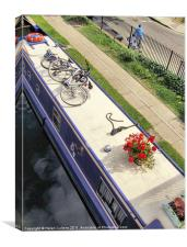 GREEN TRANSPORT, Canvas Print