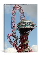 Arcelor Mittal Orbit, Canvas Print