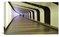 KING'S CROSS TUNNEL                               , Canvas Print