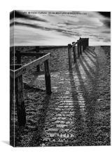 On Chesil Beach                                   , Canvas Print