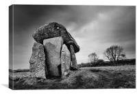 Trethevy Quoit                                    , Canvas Print