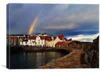 A Rainbows End, Canvas Print