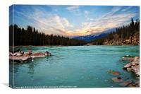 Wilderness Lake, Canvas Print