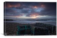 Avon Beach Sunrise, Canvas Print