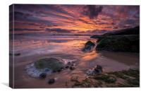 Seaside Sunrise, Canvas Print