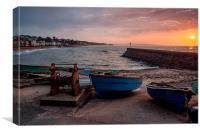 Boat Cove, Canvas Print