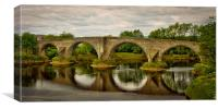 Stirling Old Bridge, Canvas Print