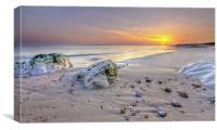 Hengistbury Head Sunset, Canvas Print