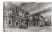 OAKWOOD HOUSE, Canvas Print
