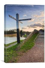 Great Haywood Junction, Canvas Print
