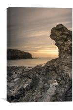 Welsh Seascape, Canvas Print