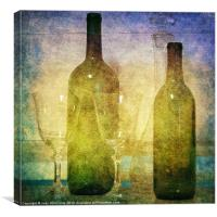 Divine Wine, Canvas Print