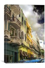 Old San Juan Color, Canvas Print