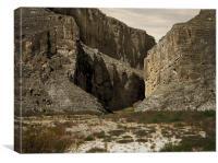 Canyon Walls, Canvas Print