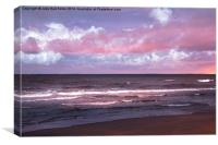Pink Drama, Canvas Print