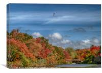 Autumn Tranquility, Canvas Print