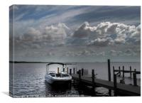 Peaceful Waters, Canvas Print