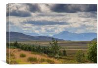 Highland landscape, Canvas Print