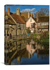 Abbey Buildings Abingdon, Canvas Print