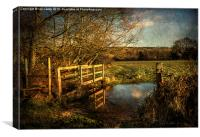 The Path to Sulham , Canvas Print