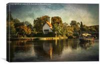 Goring on Thames, Canvas Print