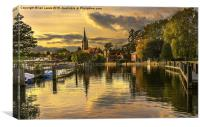 Marlow Late Afternoon, Canvas Print