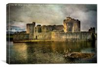 Caerphilly's Stronghold, Canvas Print