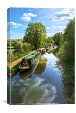 The Oxford Canal, Canvas Print