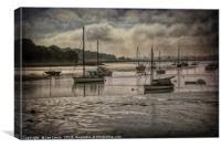 The River Deben at Woodbridge, Canvas Print