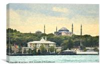 Minarets Of Istanbul, Canvas Print